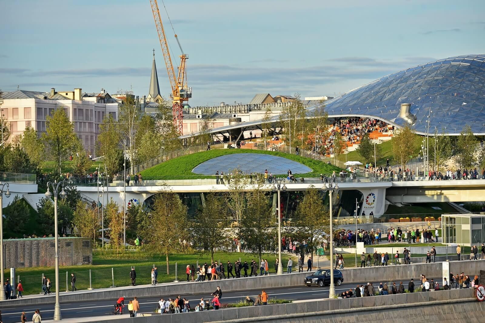 АО «Мосинжпроект» подарило Москве парк «Зарядье»